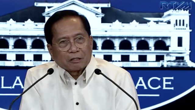 'NOT YET READY.' Presidential Adviser on the Peace Process Jesus Dureza gives updates on the government's approach to peace process with communists. RTVM screenshot