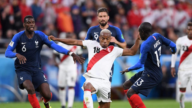GELANDANG. Prancis dikenal memiliki barisan gelandang yang perkasa. Foto dari FIFA.com