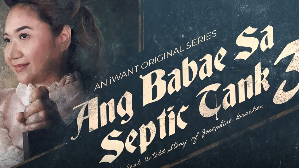 BINGE-WORTHY. Eugene Domingo shines as herself in the TV series 'Ang Babae Sa Septic Tank 3.' Screenshot from trailer