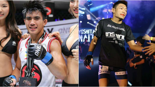 ALL THE WAY? That's where Joshua Pacio (L) is willing to go against Yoshitaka Naito. Photo from ONE Championship