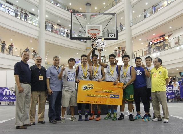 CHAMPIONS. Photo from SBP's press release