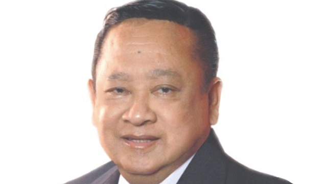 FORMER LEGISLATOR. Roque Ablan Jr passed away on March 26, 2018. Photo from Roque Ablan's online resume