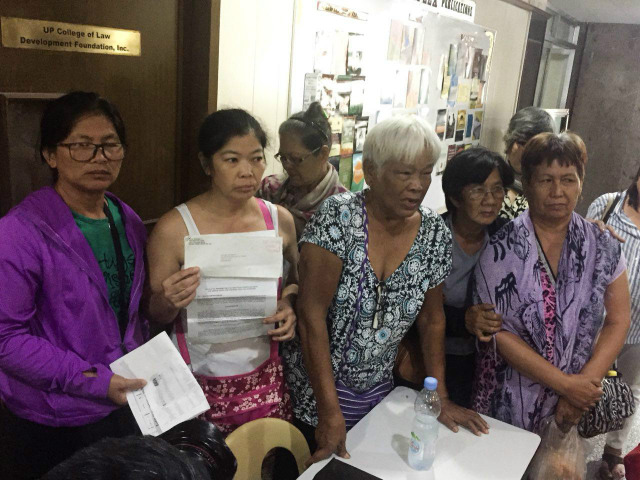 PLEA. Martial Law victims and their families lament the fact that they've received little to zero compensation until now. All photos by Jodesz Gavilan/Rappler