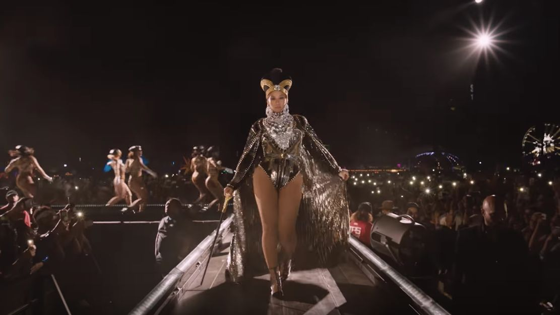 NETFLIX DEBUT. American singer Beyonce's 'Homecoming' film premieres April 17. Screenshot from Netflix's Youtube page