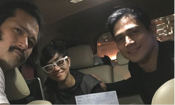 FOR MARAWI. Robin Padilla, Piolo Pascual, and Joyce Bernal collaborate for a movie about the 2017 Marawi siege. File photo from Instagram/@robinhoodpadilla