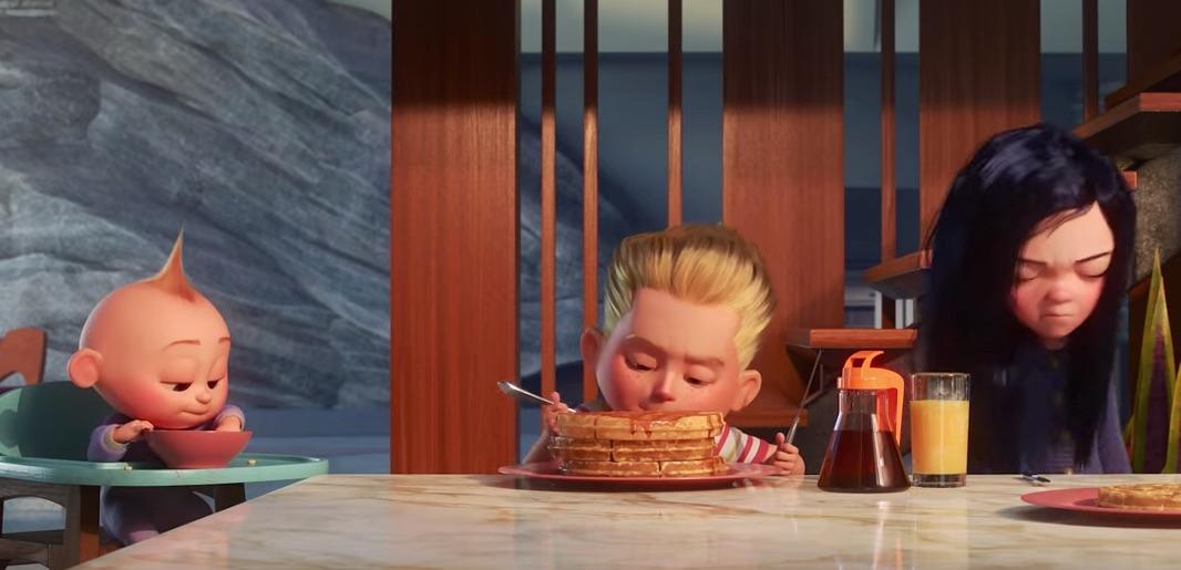 KEKUATAN SUPER. Meski terlihat normal, ketiga anak ini memiliki kekuatan super masing-masing. Foto dari screen capture akun YouTube Disney-Pixar