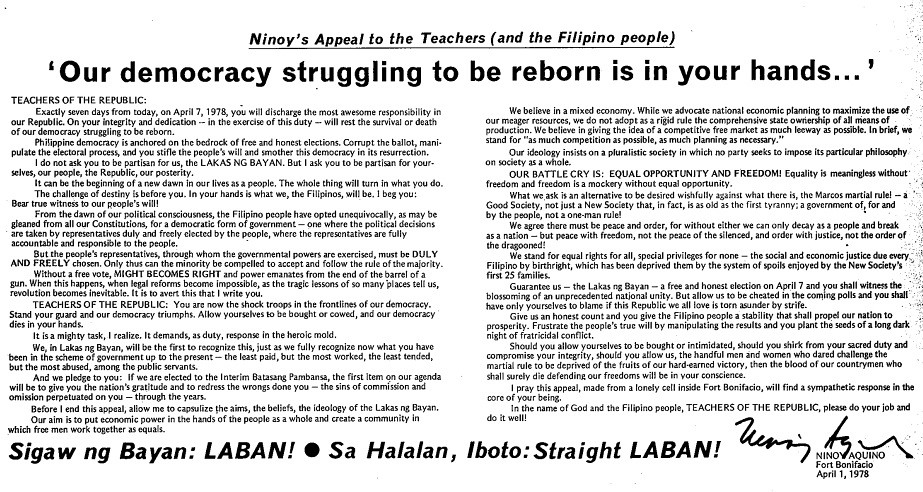 Photo courtesy of the Presidential Communications Development and Strategic Planning Office as sourced from The Willing Martyr by Alfonso P. Policarpio Jr.