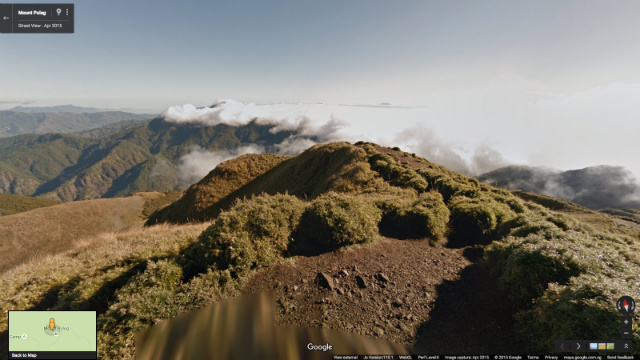 MOUNT PULAG ON STREET VIEW