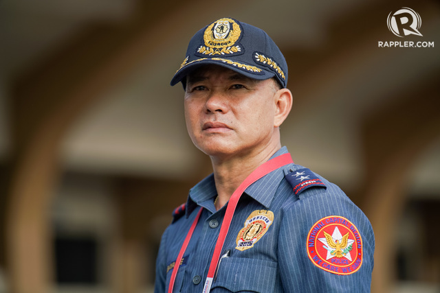 NEW CHIEF. Oscar Albayalde will soon head the Philippine National Police. File photo by Martin San Diego/Rappler