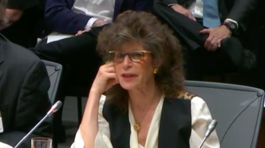 SOSHANA ZUBOFF. Screenshot from International Grand Committee livestream