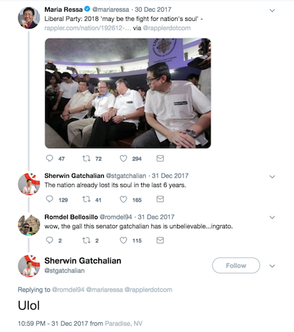 Screengrab from Twitter