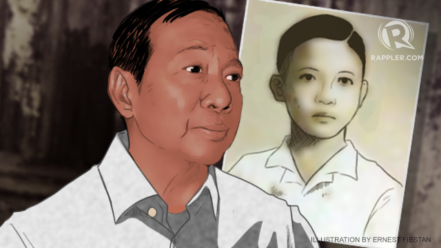 FROM EXPERIENCE. Binay says his pro-poor platform stems from his personal experiences as a child. Illustration by Ernest Fiestan/Rappler