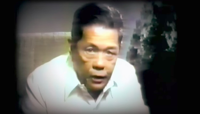 FOR HUMAN RIGHTS. Ka Pepe continued to fight for human rights until his death. Screenshot from Youtube video by Diokno Foundation