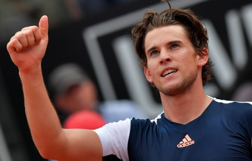 WINNER. After defeating the 4th seeded Rafael Nadal, Dominic Thiem now has a 17-3 record on clay this year. Photo by Tiziana Fabi/AFP