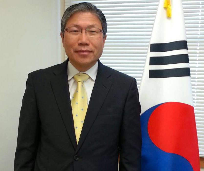 SOUTH KOREAN ENVOY. South Korean Ambassador Han Dong-man.  Photo from the Facebook page of South Korean Ambassador Han Dong-man