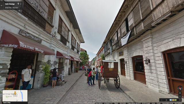 CALLE CRISOLOGO IN STREET VIEW