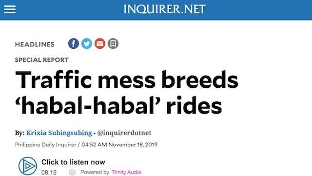 Screenshot from Inquirer.net