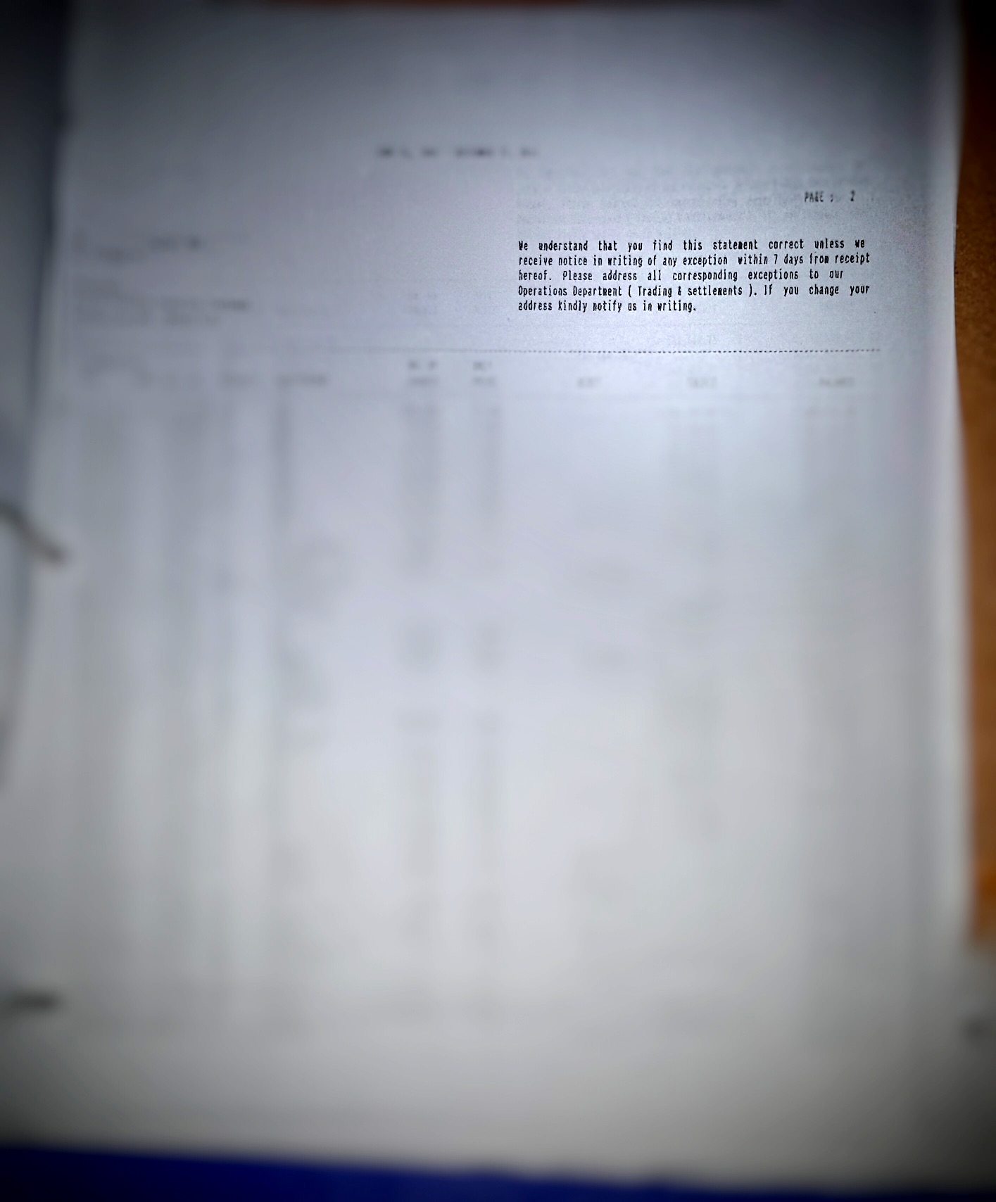 MANIPULATED STATEMENTS. The official Statement of Account of a client (above), shows transactions never authorized by the client, and was different from the SOAs sent to the client monthly by Valbuena, which she faked. Document sourced by Rappler