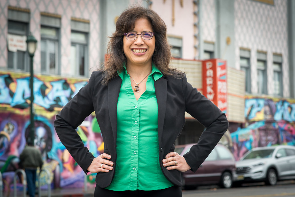 IT'S A WIN. First-time candidate Nikki Fortunato Bas is the first FilAm woman elected to the Oakland City Council (District 2) by taking 4,049 votes or 51.04 percent.