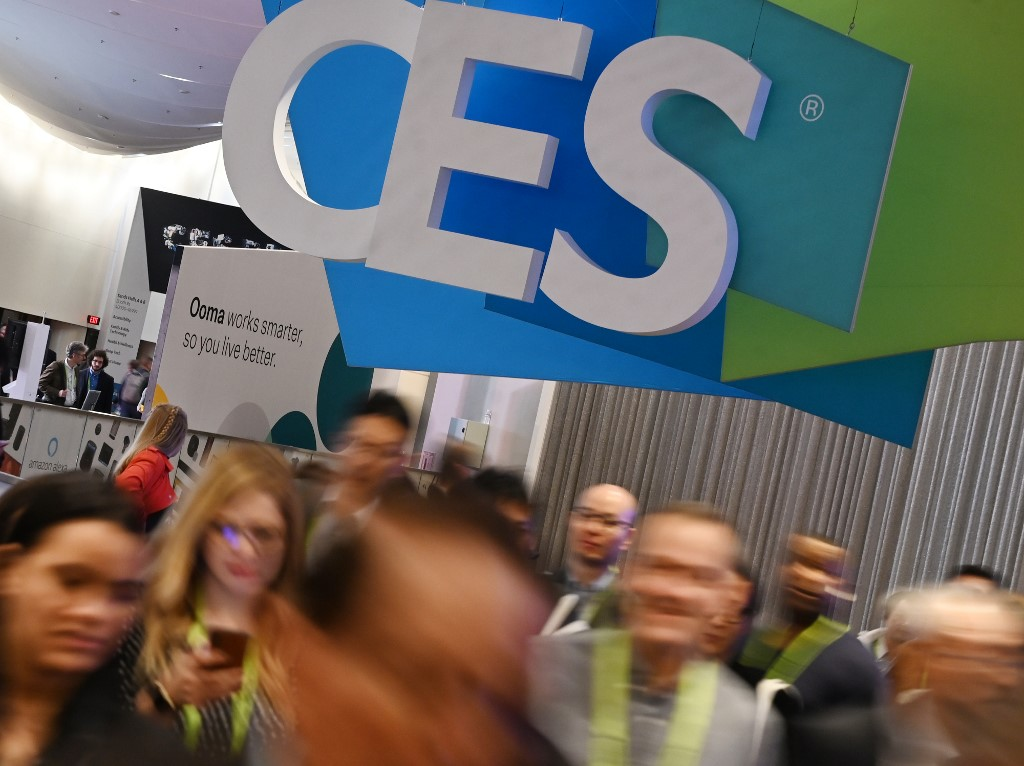 CES. Attendees walk through the hall at the Sands Expo Convention Center during CES 2019 consumer electronics show, on January 10, 2019 in Las Vegas, Nevada. File photo by Robyn Beck/AFP