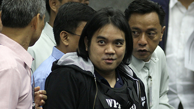 WHISTLEBLOWER. Benhur Luy is Napoles' former employee, who claimed that he was forcibly detained to prevent him from revealing the pork barrel scam. Rappler file photo