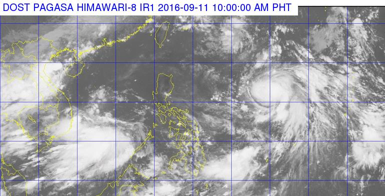 FERDIE. Tropical storm Ferdie is expected to enter the Philippine Area of Responsibility. Photo from PAGASA's Facebook Page