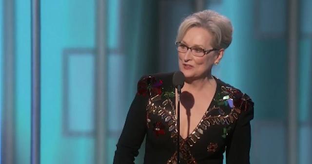 Foto dari screen capture akun Twitter Golden Globes Awards
