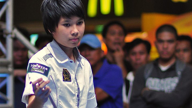 RISING STAR. Chezka Centeno is considered the future of Philippine pool. Photo from Centeno's Facebook