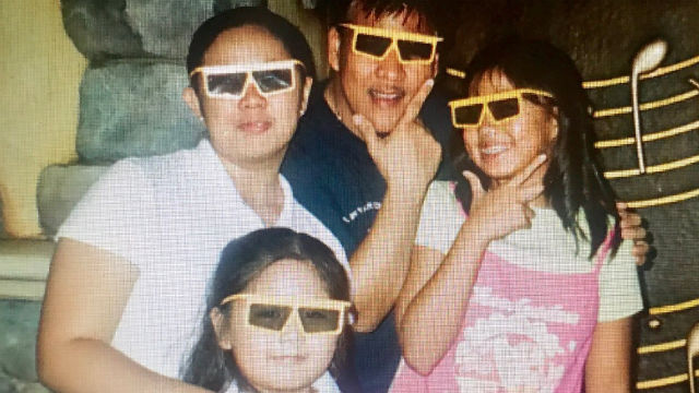 #LEAVEOURSHADESALONE. Vice President Leni Robredo posts an old photo of her kids and late husband to show her support for the social media campaign launched for her. Screenshot from Robredo's Twitter account