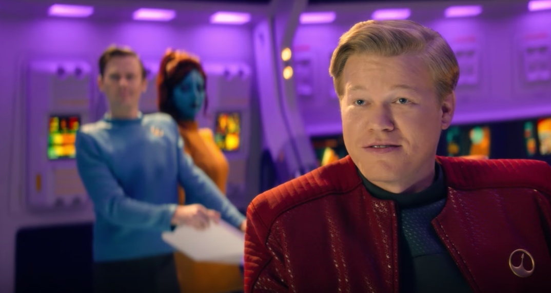 A DIFFERENT BREED OF SCI-FI. Black Mirror's Season 4 pilot episode, 'USS Calister', recently bagged four Emmys. Photo courtesy of Netflix US