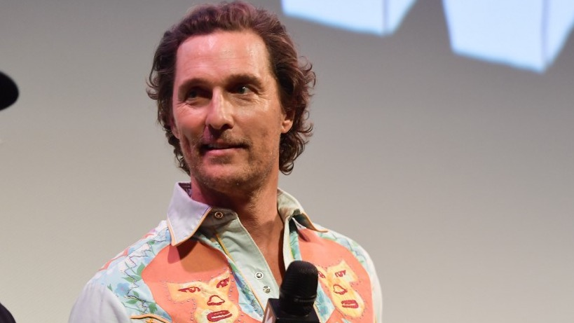 PROFESSOR. Actor Matthew McConaughey now works at the University of Texas, Austin. Photo by Matt Winkelmeyer/Getty Images for SXSW/AFP