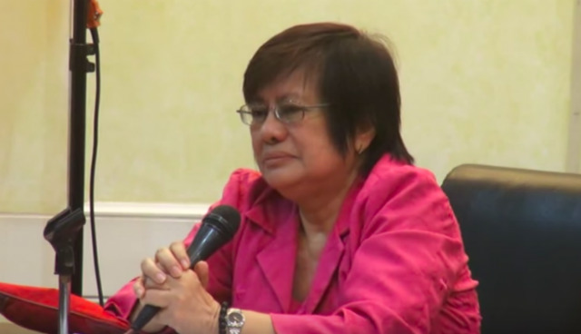 LATEST JUSTICE. Rosmari Carandang is the latest Supreme Court associate justice. Screenshot from video by PIO