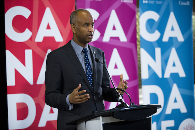 Citizenship and Immigration Minister Ahmed Hussen. Photo Courtesy of CIC