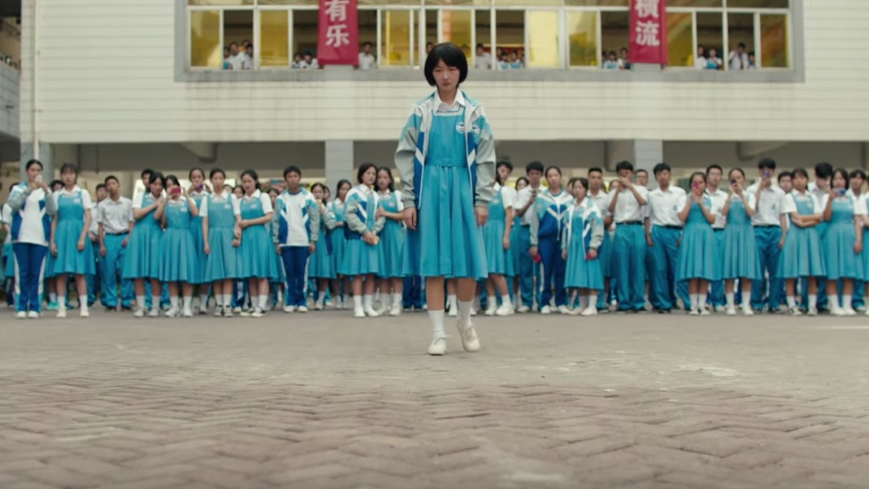 BETTER DAYS. The Chinese film touches on the 'nationwide problem of bullying which has existed for years.' Screenshot from trailer