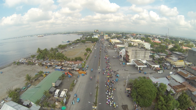 AERIAL VIEW. This photo shows an aerial view of a portion of General Santos City. Photo from Sentro