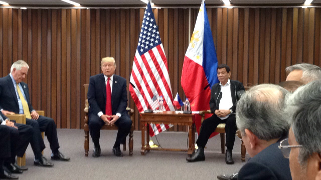 NO 'SPIES' ALLOWED. President Duterte tells media they can't ask questions and asks them to leave the room. MPC pool photo