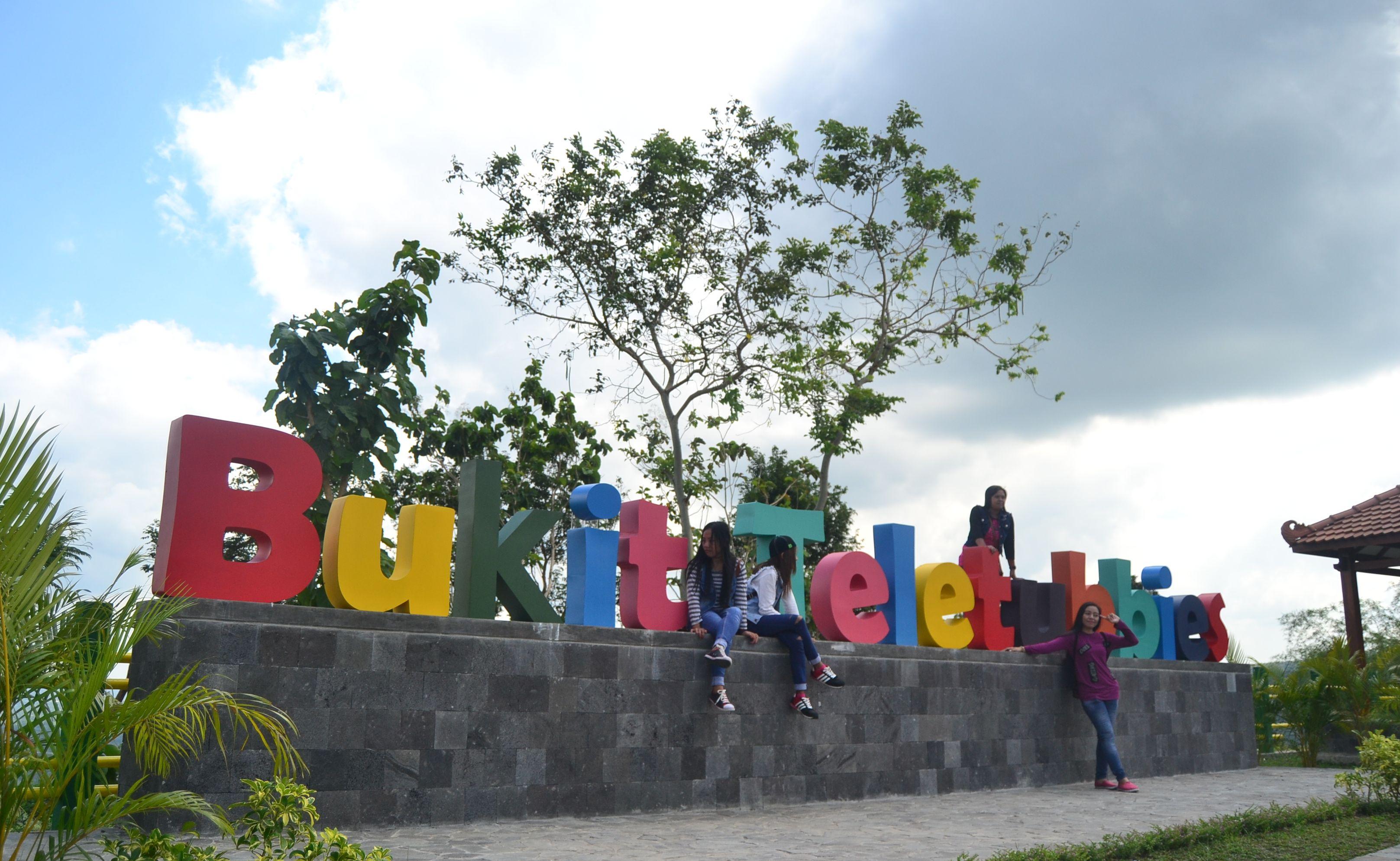 Bukit Teletubbies di atas perumahan New Nglepen. Foto oleh Dyah Ayu Pitaloka/Rappler
