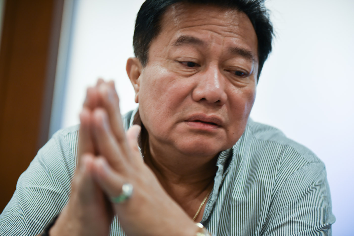 STILL IMPORTANT QUERIES. Despite the apology, Speaker Pantaleon Alvarez maintains it was still necessary to ask Ronnie Dayan about his affair with Senator Leila de Lima. File photo by Alecs Ongcal/Rappler