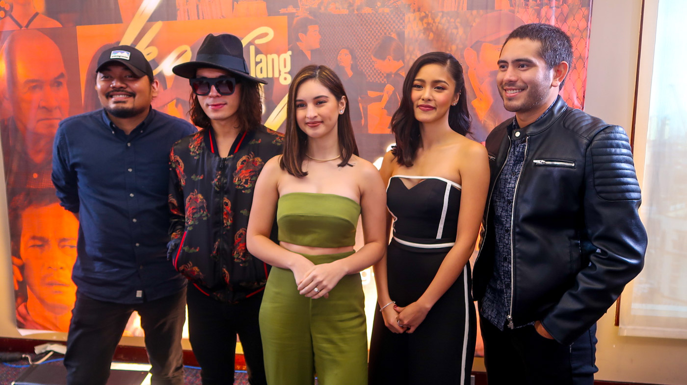 FINAL WEEK. 'Ikaw Lang Ang Iibigin' is down to its final week on TV. From left to right: director Dan Villegas, and the show's stars, Jake Cuenca, Coleen Garcia, Kim Chiu, and Gerald Anderson. Photo by Precious del Valle