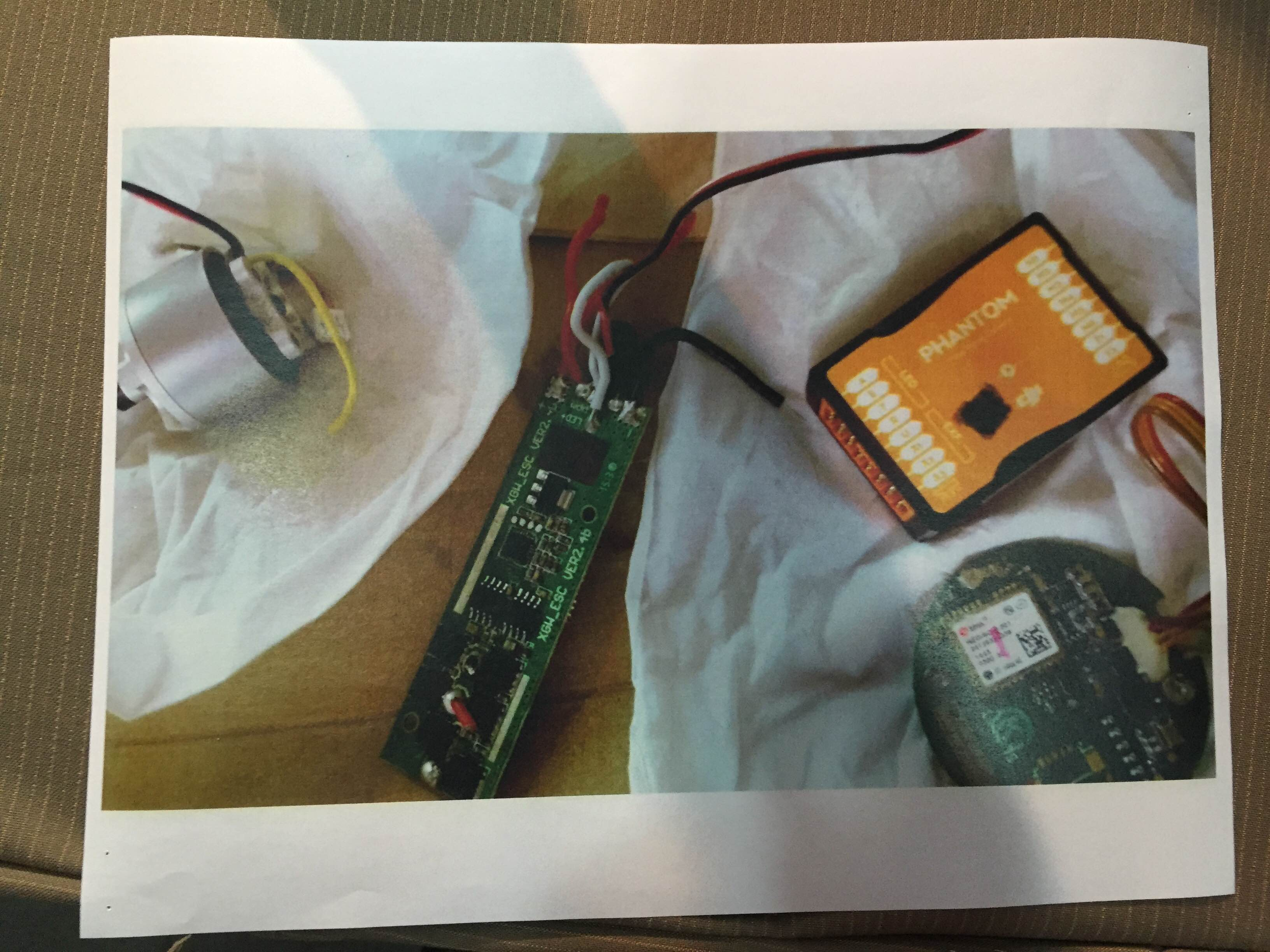 SPYING EQUIPMENT? Some electronic devices that INC claims they found hidden inside the deliveries for the Manalo siblings. Photo by Mara Cepeda/Rappler