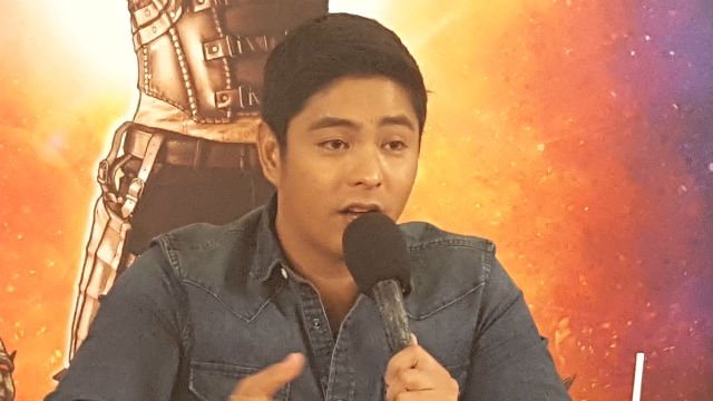 LEADING LADIES. Coco Martin has nothing but good words for his two leading ladies, Miss International 2016 Kylie Verzosa and Bb Pilipinas 2017 Mariel de Leon. Photo by Alexa Villano/Rappler