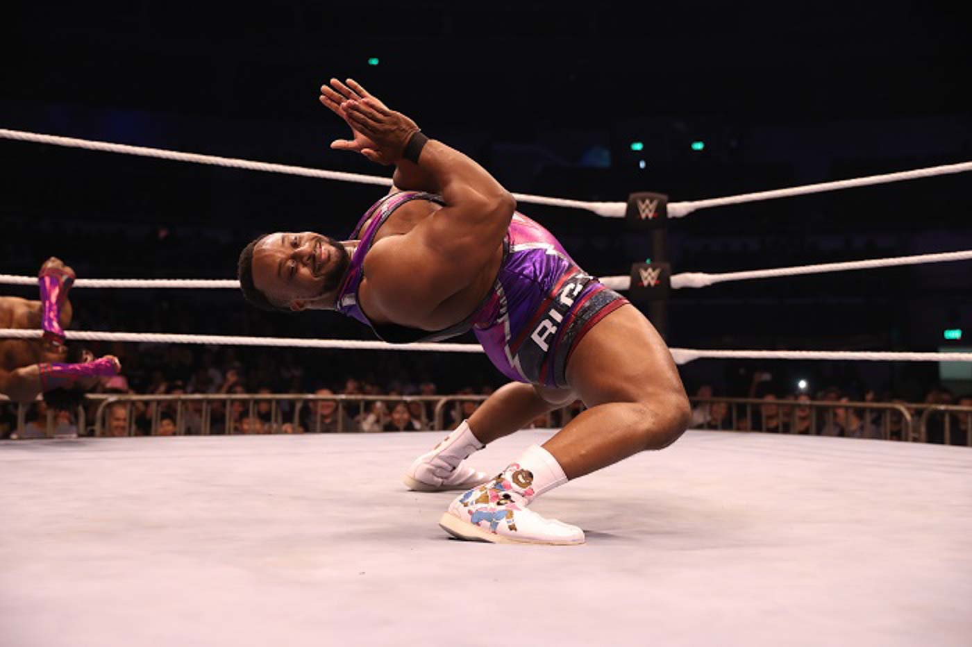 UNDERESTIMATED. Big E is hit with a surprise as he loses his title. Photo from release