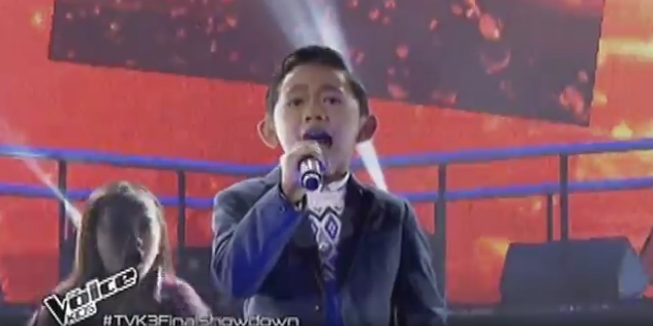 Screengrab The Voice Kids/ABS-CBN