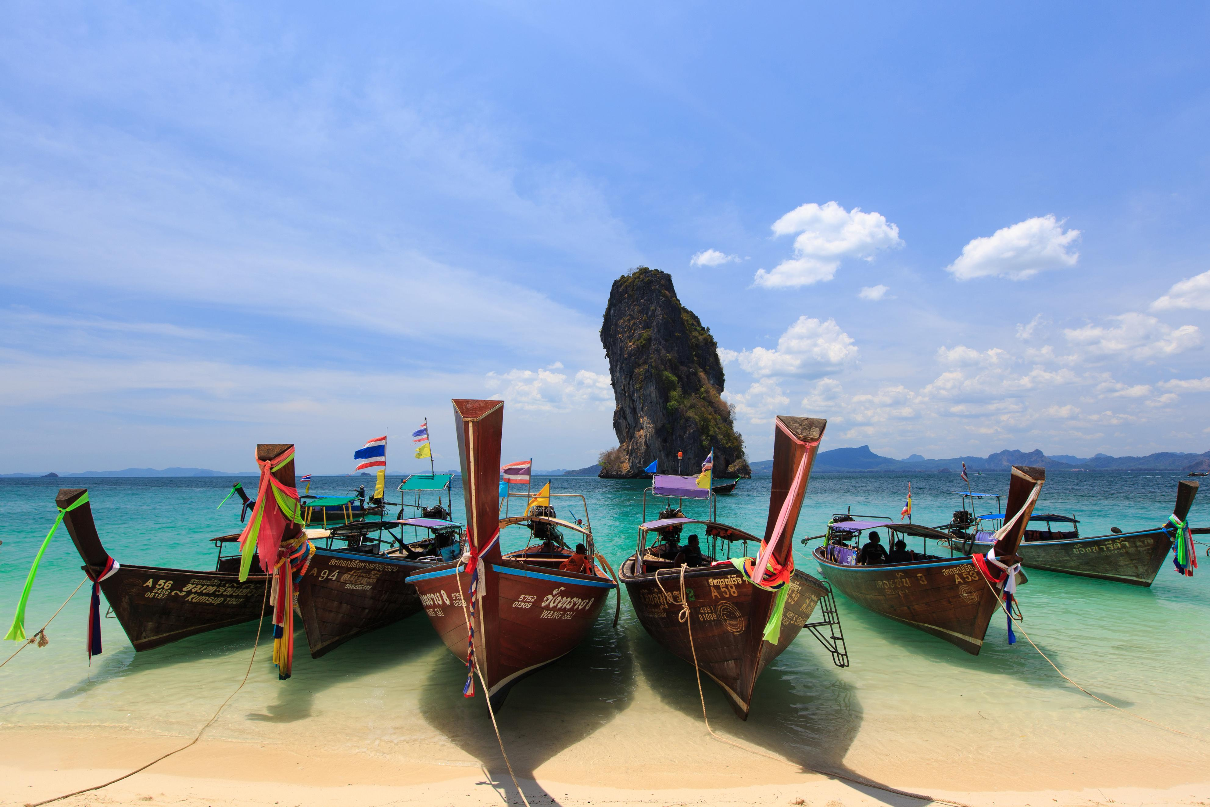 KOH PODA ISLAND. Take a break from the city with a trip to one of Thailand's beaches. Photo courtesy of the Tourism Authority of Thailand