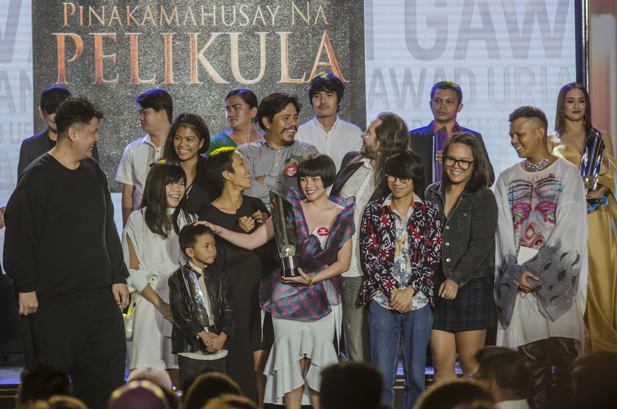 BEST PICTURE. The cast of 'Balangiga: Howling Wilderness.'
