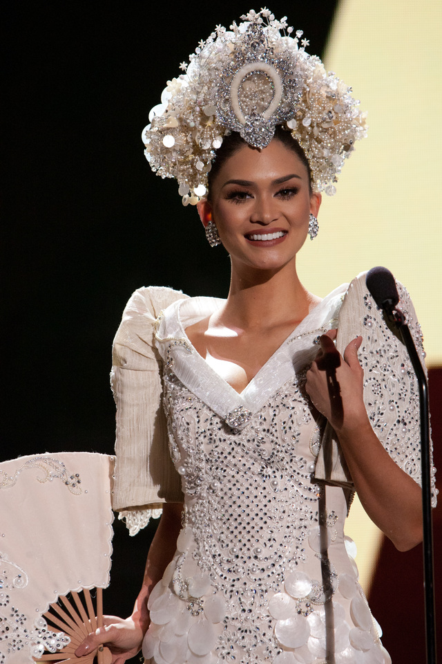 MISS UNIVERSE 2015. Pia Alonzo Wurtzbach, debuts her National Costume on stage at Planet Hollywood Resort and Casino Wednesday, December 16, 2015. Photo from the Miss Universe Organization
