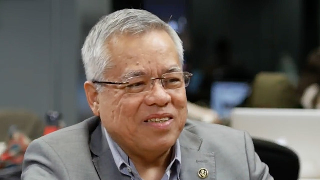 BULLISH. DTI Secretary Mon Lopez in a Rappler Talk on March 15, 2017.
