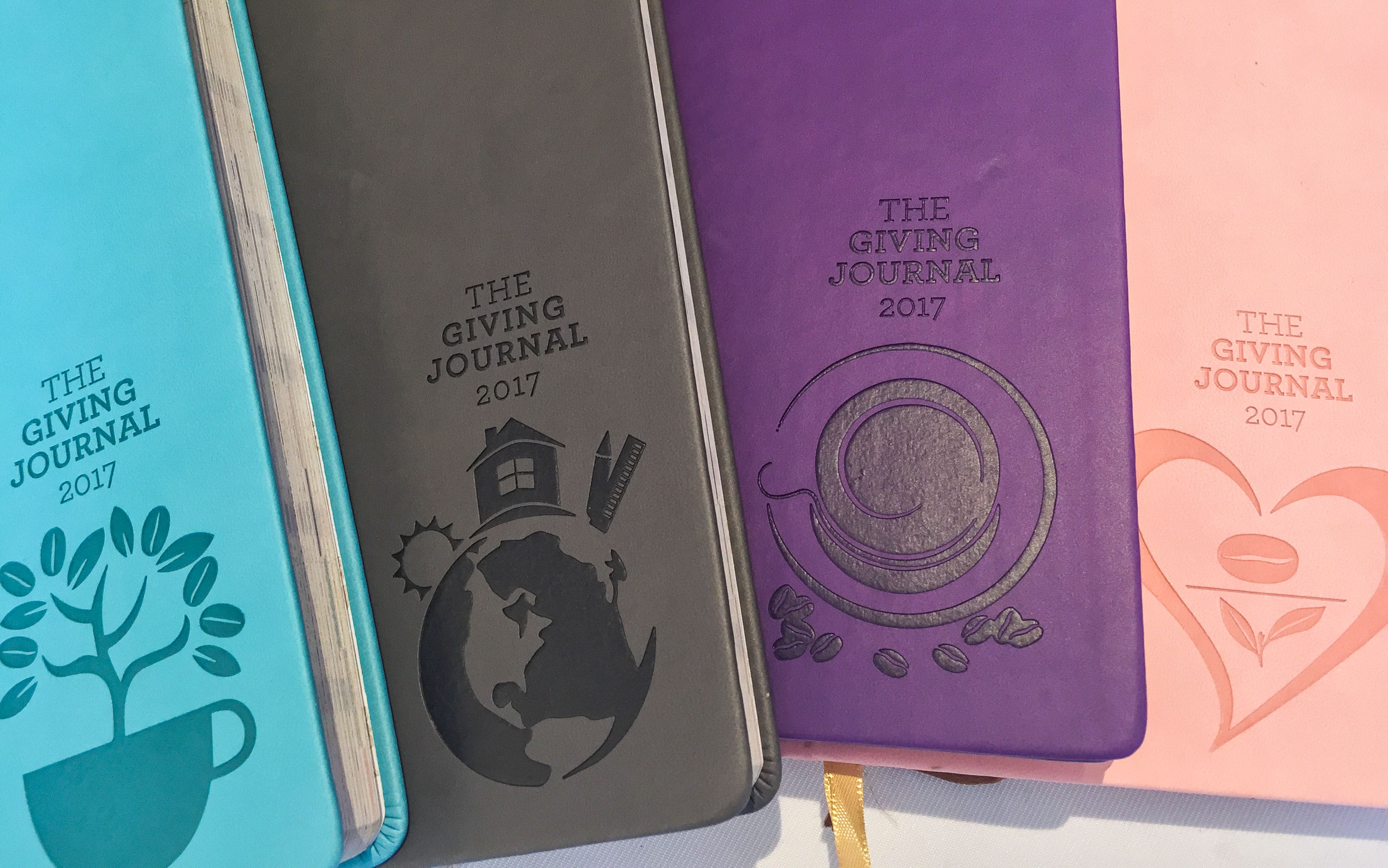 GIVING JOURNAL 2017. Customers can start collecting stamps for Coffee Bean u0026 Tea Leaf's planners on October 22, 2016. Photo by Vernise L. Tantuco/Rappler