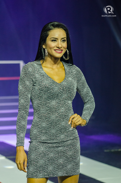 SUPERBODS. Queenie Rehman during the Century Superbods competition this year. File photo by Rob Reyes/Rappler