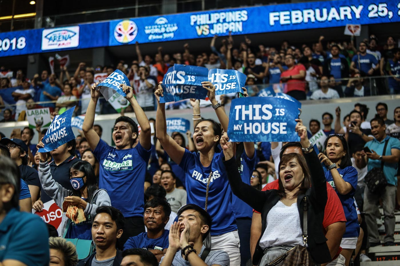 SIXTH MAN. The noisy hometown crowd at the MOA Arena is a big factor. Photo by Josh Albelda/Rappler